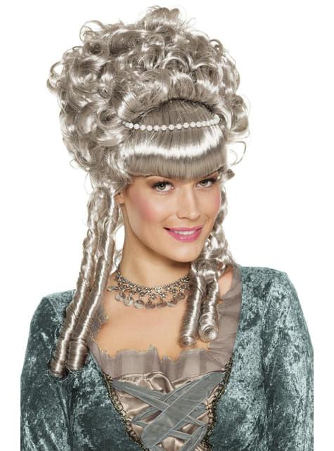 Perruque comtesse baroque femme