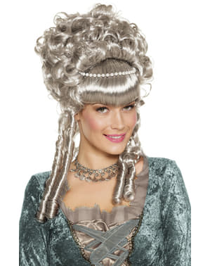Parrucca da contessa barocca per donna