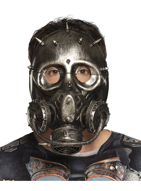 Máscara de gas-punk para adulto - para tu disfraz