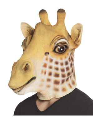 Masque girafe adorable adulte
