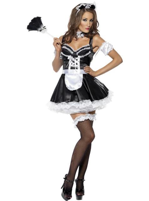 Sexy kostým francúzskej slúžky