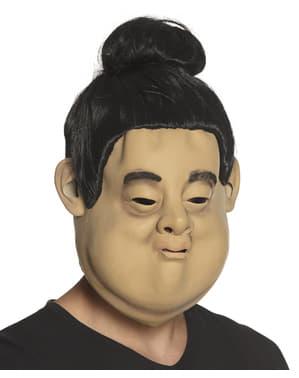 Sumo worstelaar masker voor volwassenen