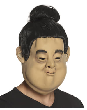 Sumo wrestler mask for adults