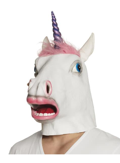 Klasična maska za jednorog za odrasle