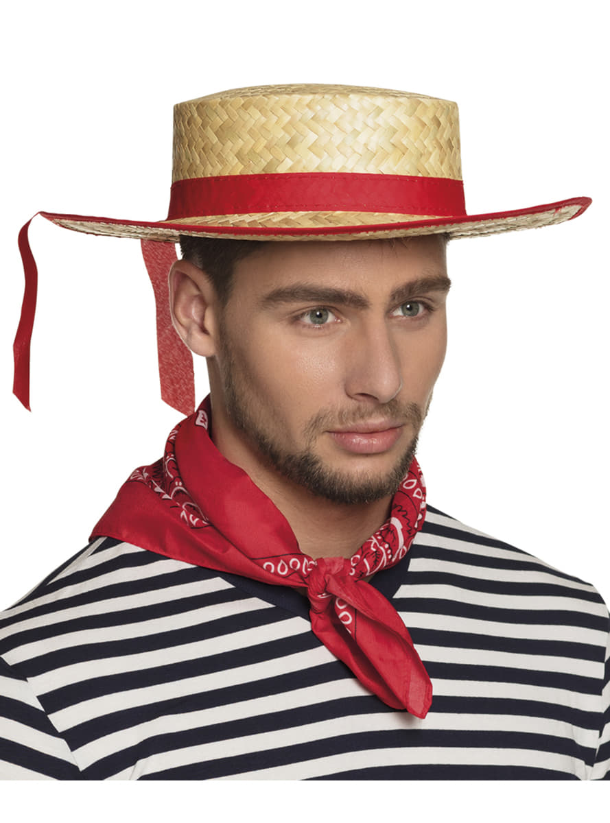Italian Gondolier Hat For Adults The Coolest Funidelia