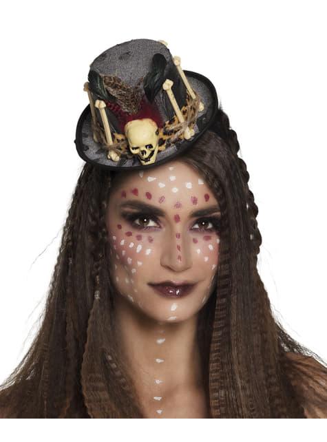 Sombrero de hechicera vudú para mujer - para tu disfraz