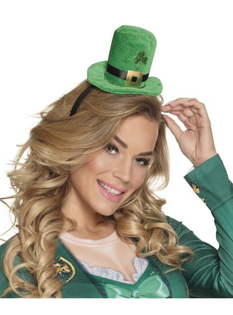 Mini sombrero leprechaun San Patricio para adulto - para tu disfraz