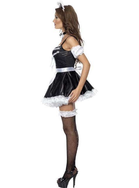 Kostium francuskiej służącej kokietki Fever
