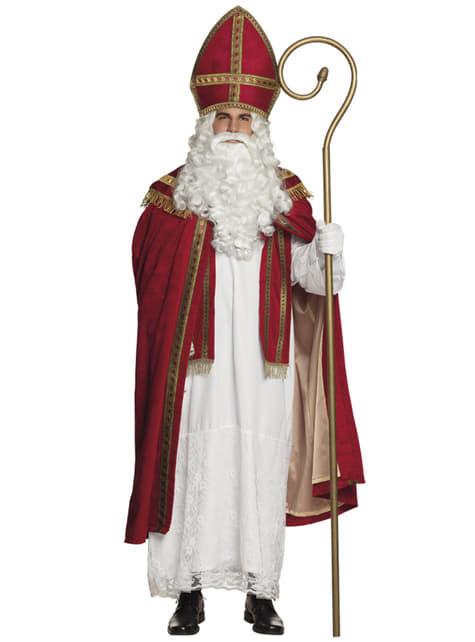Disfraz de San Nicolás para hombre - hombre