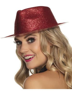 Silvester Hut rot für Erwachsene