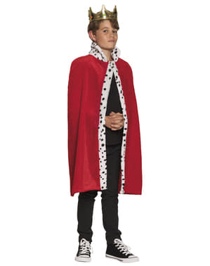 Red king cape for boys