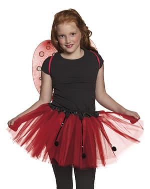 Mariehøne kostume sæt til børn