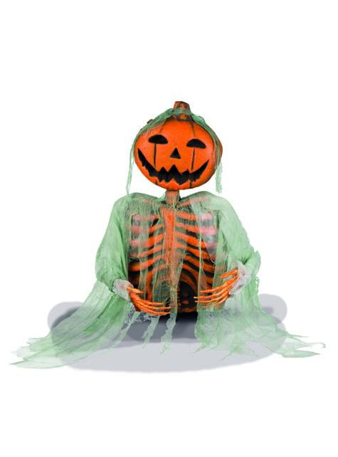 Figura decorativa de calabaza fantasma - para tus fiestas