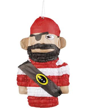 Piñata de pirata bravucón