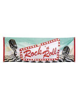 Banner na imprezę w stylu Rock n' Roll