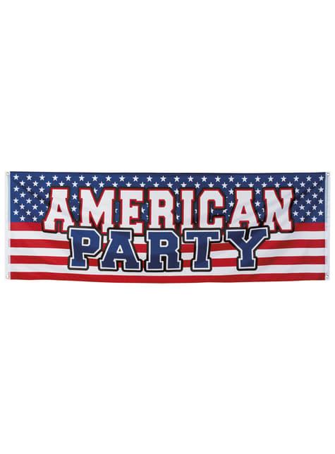 Amerikaanse partijaffiche