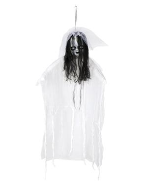 Figura pingente de noiva fantasmagórica