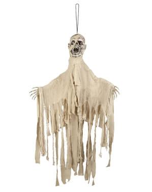 Figurine suspendue squelette terrifiant