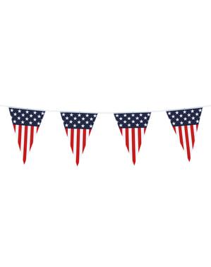 Guirlande Fanions États-Unis