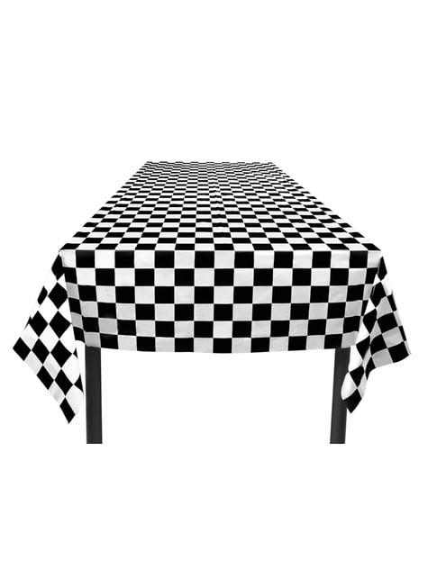 Toalha de mesa de bandeira aos quadrados