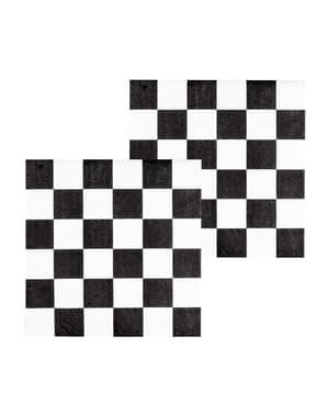 12 Formel 1 Servietter (33x33 cm)