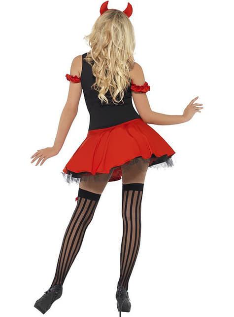 Kostým pre dospelých sexy diabolská diva