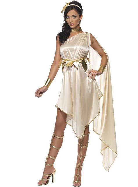 Fato de deusa grega