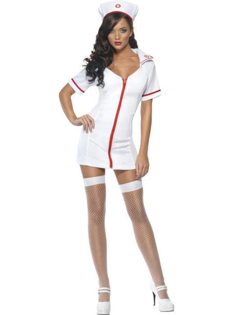 Disfraz de enfermera Fever para mujer
