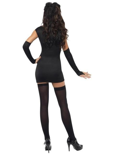 Disfraz de esqueleto deluxe Fever para mujer - original