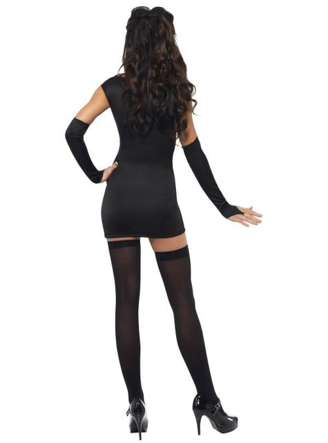 Fever Deluxe Sexy Skeleton Adult Costume