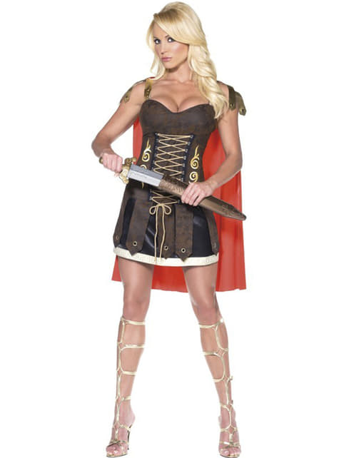 Disfraz de gladiadora Fever - mujer
