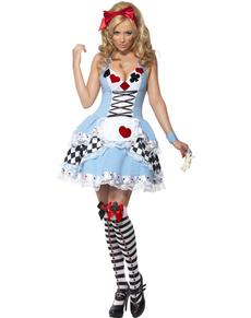 Fever Miss Wonderland Adult Costume