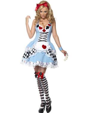 Sexy kostým pre dospelých Miss Wonderland