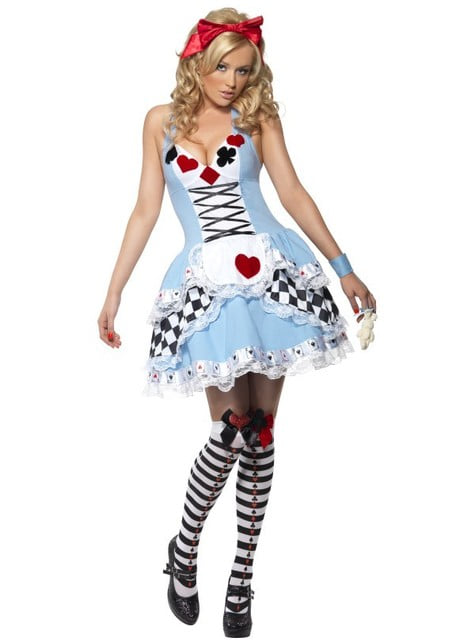 Fever Miss Wonderland Adult Costume
