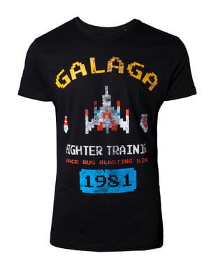 T-shirt de Galaga para homem
