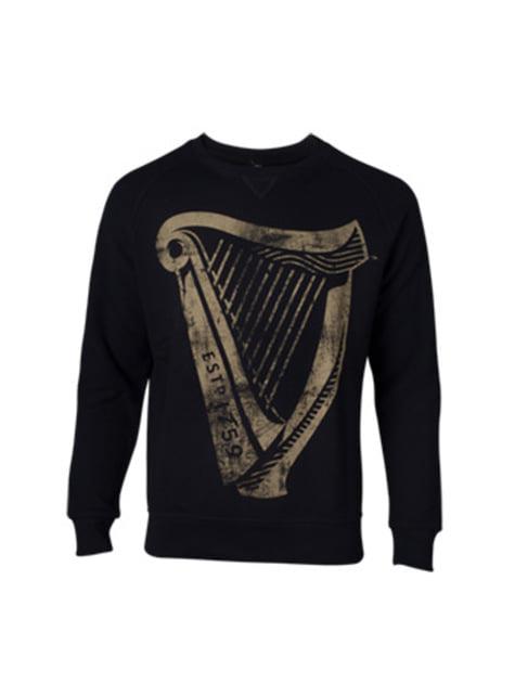 Guinness Sweatshirt for Men in Black