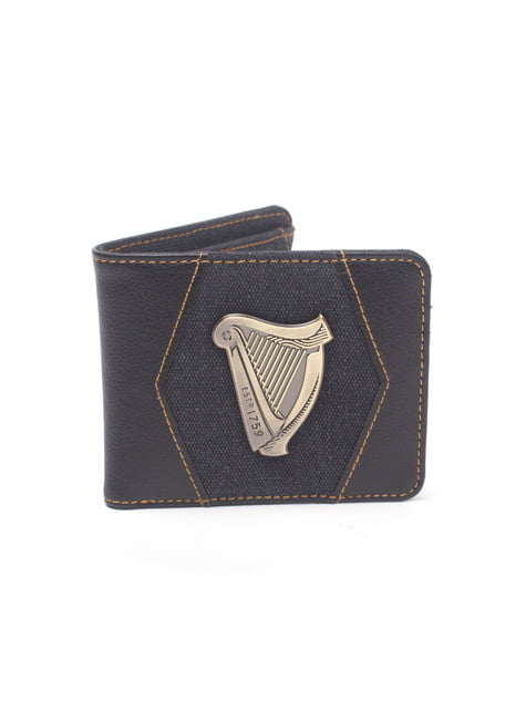 Guinness Distressed Harp wallet for men