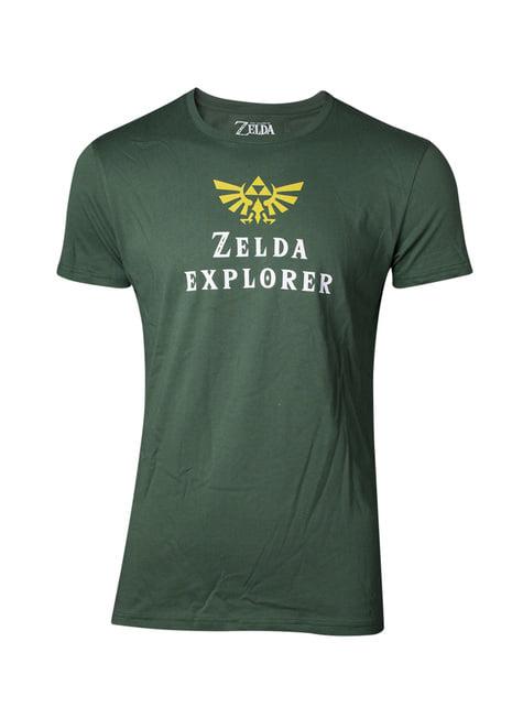 Koszulka Zelda Explorer dla mężczyzn - The Legend of Zelda