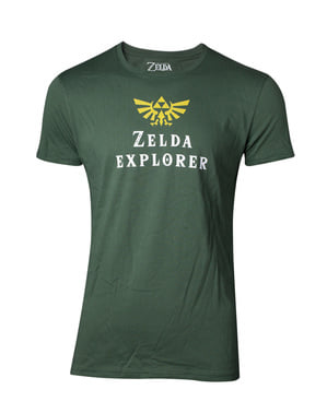 Zelda Explorer t-shirt til mænd - The Legend of Zelda