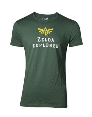 Zelda Explorer T-Skjorte til menn - The Legend of Zelda