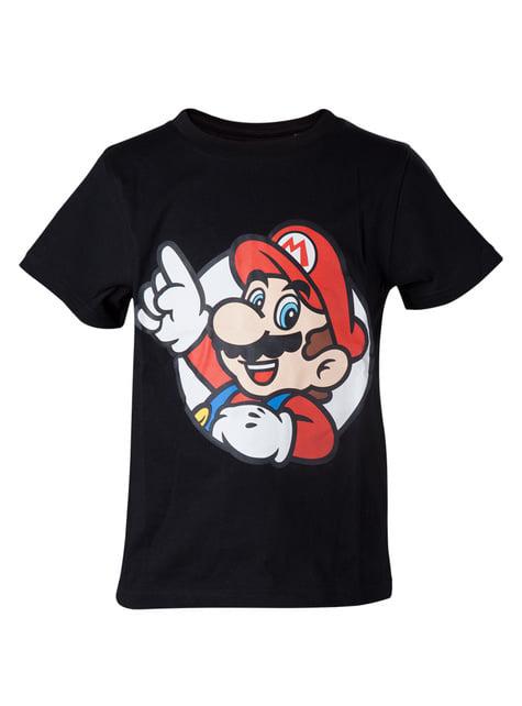 Mario T-Shirt til Børn - Super Mario Bros