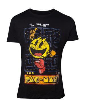 T-shirt Pacman Retro vuxen