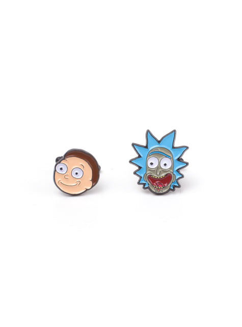 Botões-de-punho de Rick e Morty para homem