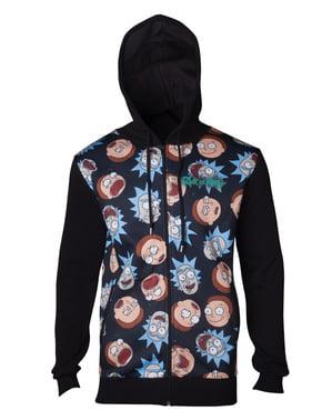 Rick og Morty hoodie til mænd