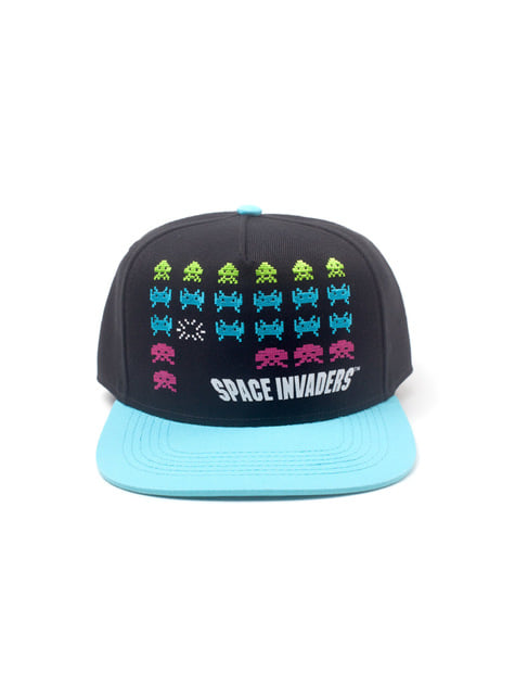 Gorra de Space Invaders personajes