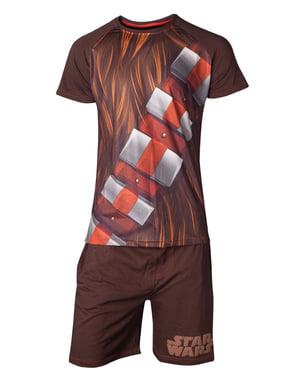 Chewbacca pyjamat miehille - Tähtien Sota