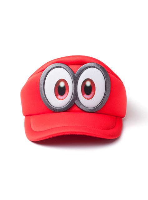 Boné de Super Mario Odyssey olhos para homem