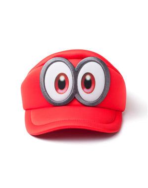 男性用スーパーマリオ オデッセイ目玉つき帽子