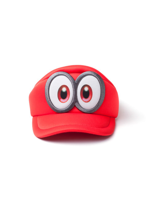 Gorra de Super Mario Odyssey ojos para niño