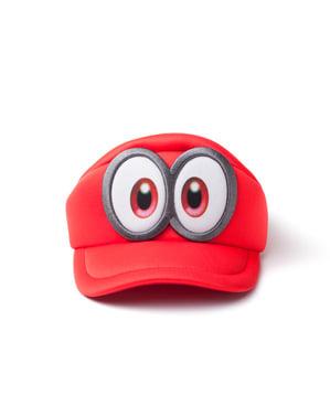 Boné de Super Mario Odyssey olhos para menino